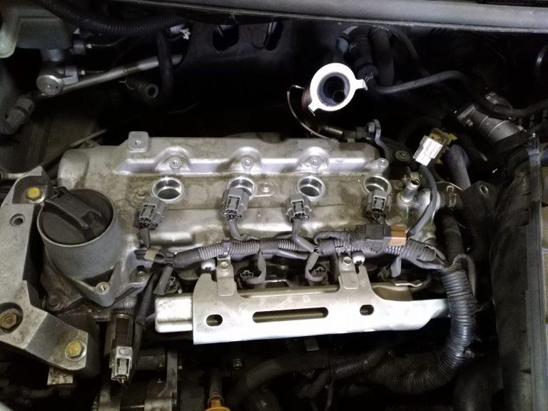 エンジン不調&エンジンチェックランプ点灯