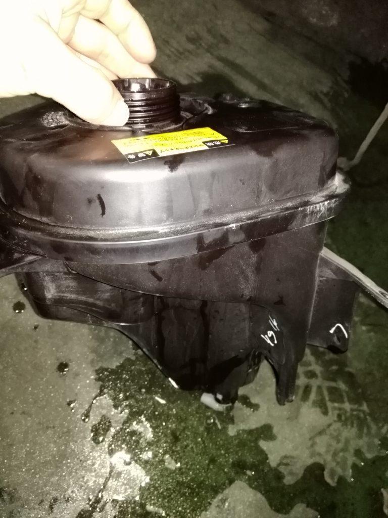 冷却水の水漏れ
